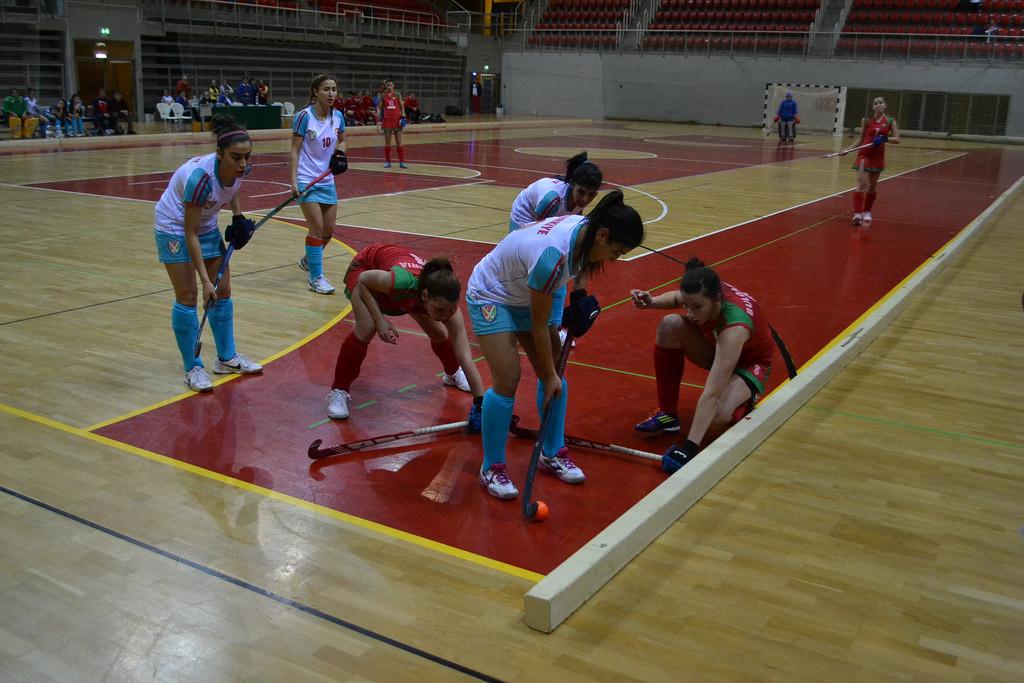 Day 1, EuroHockey Indoor Championships III, Porec
